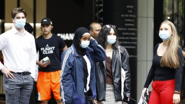 Mask mandates have been eased slightly in Queensland, but experts warn they will likely get tougher again before long.