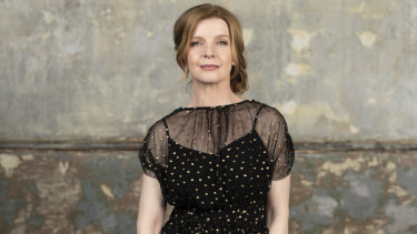 "Jacqueline McKenzie: ""I don't want to lose things I have now. So if going back to that time would make that happen, why would  I want that? I love my life and the people in it. """