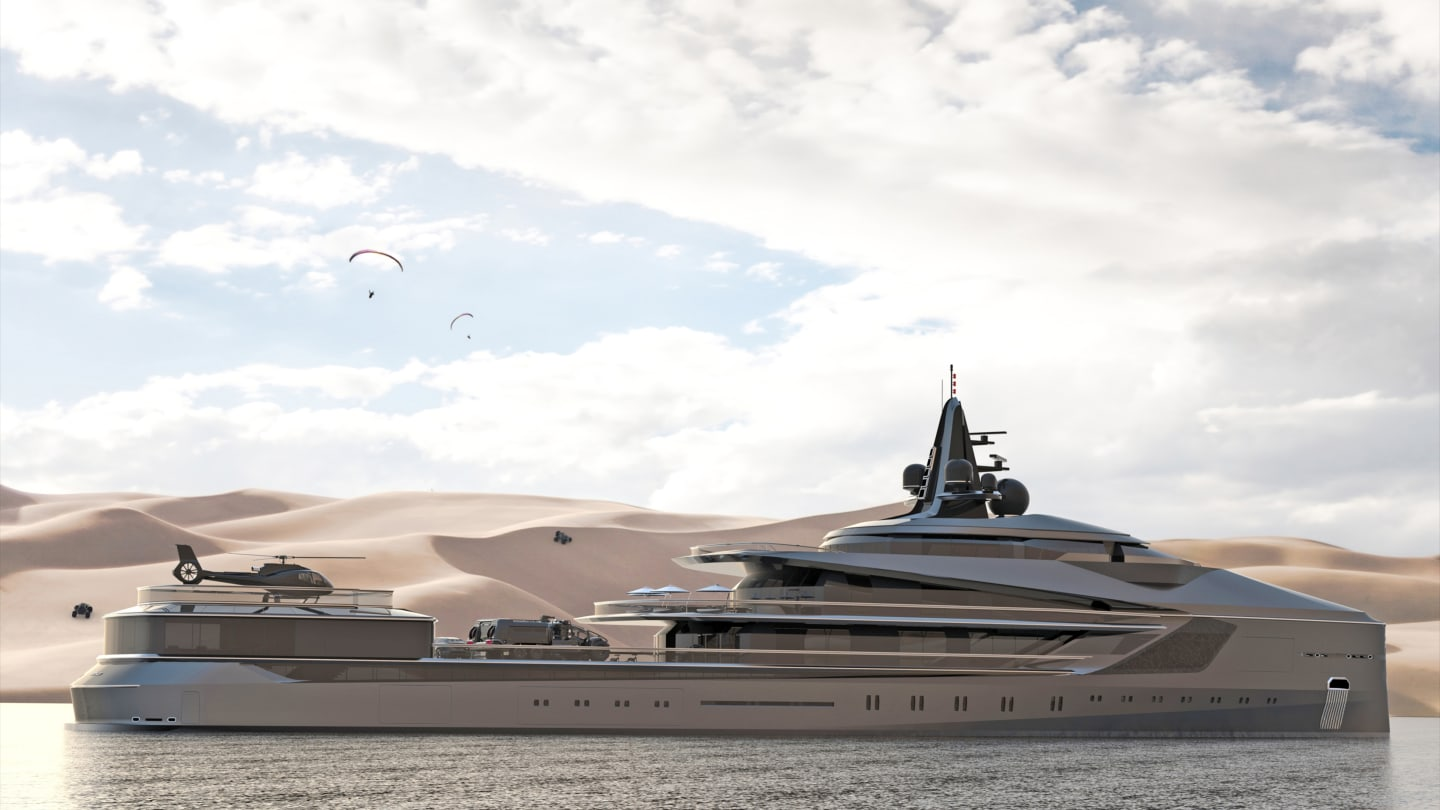 Superyachts Show Size Matters To The Super Rich