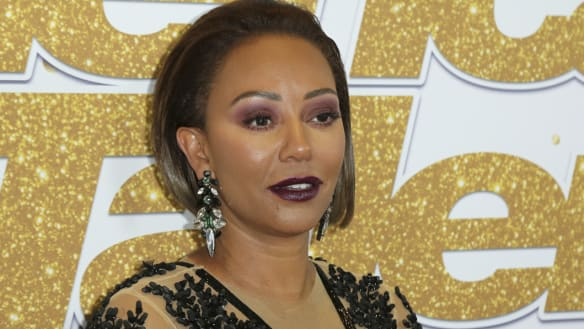 Spice Girl Mel B hospitalised with broken ribs and 'severed hand'