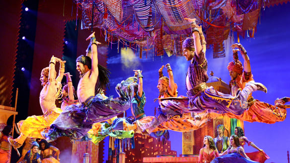 You ain't never seen a show like this: Aladdin opens at Crown Perth