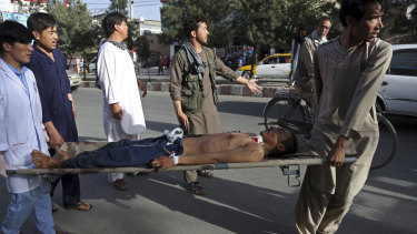 The bombing killed at least 49, leaving Afghanistan reeling from yet another attack.