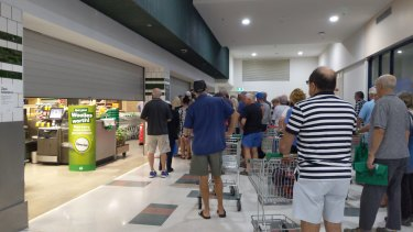 Major supermarkets will provide a priority home delivery services to disabled Australians from Monday.
