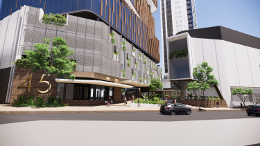 The High Street entry proposed for the Toowong Town Centre development in 2020.