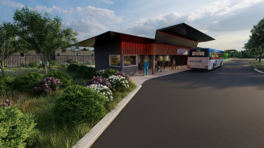 What the new quarantine facility in Mickleham will look like.