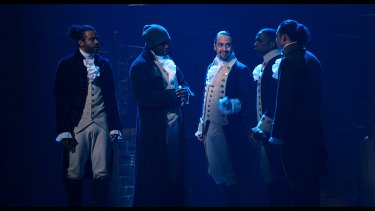 Hamilton features a diverse cast where most of the performers are people of colour.