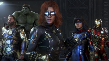 Marvel's Avengers has a bit of a loot problem, but some of the cosmetic costumes you can track down are very cool.