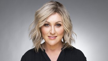 Meshel Laurie is back at uni studying a masters.