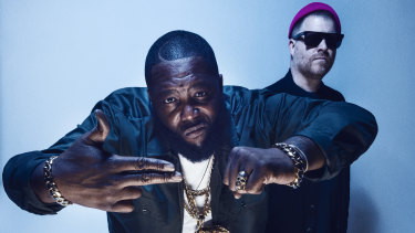'Basically two stoned buddies': Killer Mike, left, and EL-P.