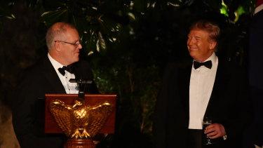 The Ukraine whistleblower scandal is brewing while Trump entertains Australia's Scott Morrison in Washington.