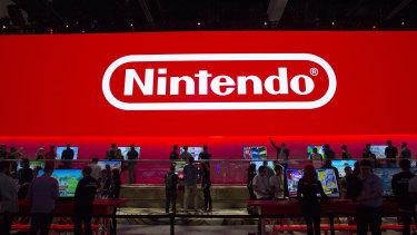 Nintendo shares slumped on an uncertain outlook.