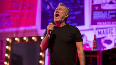 Jimmy Barnes performs in his show Working Class Man: An Evening of Stories & Songs, now touring nationally.