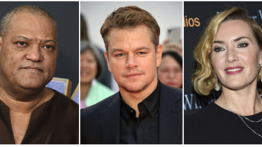 Laurence Fishburne, Matt Damon and Kate Winslet starred in the 2011 film Contagion.