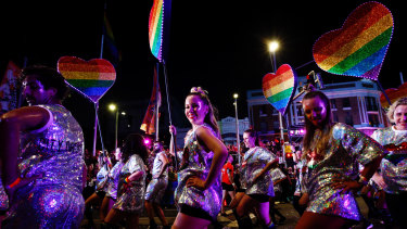 Next year's gay and lesbian Mardi Gras will not follow its traditional route along Oxford Street because of pandemic restrictions.