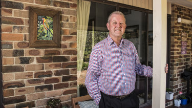 Bruce Linton and his wife have paid off their Kenthurst home but carry mortgage debt for their investment properties.