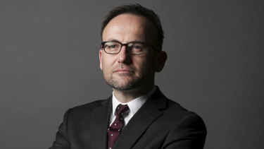 "Greens MP Adam Bandt accused the government of rolling over to ""climate change deniers"" rather than accept its own amended bill."