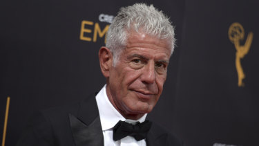 """Anthony Bourdain, who died in June, was honoured in the ceremony's """"In Memoriam"""" segment."""