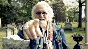 Billy Connolly traces 1000 years of Scottish history in the United States in Billy Connolly's Great American Trail.