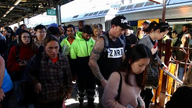 Passengers said they were sent back and forth between platforms at Central.