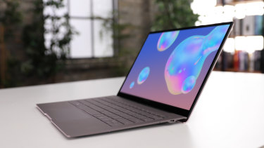 The Galaxy Book S is thin, light and powerful, but its ARM processor means you'll want to stick to Microsoft Store apps.