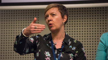 Dr Fiona Wild, BHP Billiton's vice president of climate change and sustainability.