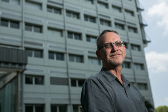 Paul Young: the University of Queensland's molecular clamp technology had some difficulties.