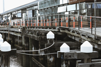 Businesses at the damaged Central Pier are suing Development Victoria for $100 million.