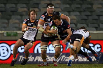 The Brumbies are two-from-two this Super Rugby season but crowds are out an all-time low.