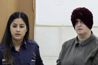 Accused child sex abuser Malka Leifer (right) pictured in February last year.