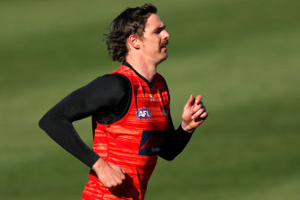 The wait continues: Essendon's Joe Daniher bides his time.