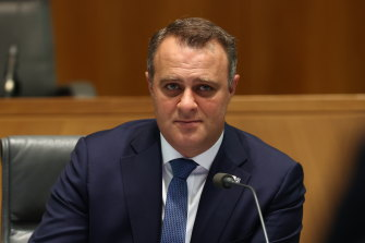 Industry Super Australia says Tim Wilson is using his role as chair of the House Economics Committee for personal political campaigning purposes.