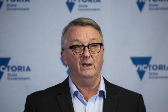 Victorian Health Minister Martin Foley.
