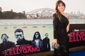 True History of the Kelly Gang star Essie Davis  looked nothing short of sensational at the premiere on Friday night.