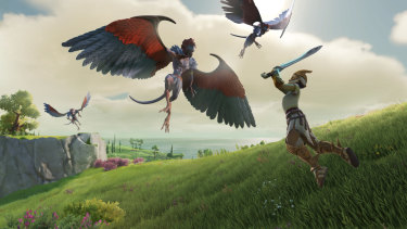 Gods & Monsters looks like a Ubisoft-made Zelda game with an ancient Greek edge.