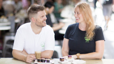 Dan Pinne and Jess Ivers are the founders of Melbourne Vegan Tours