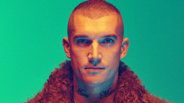 Dustin Martin stars on the cover of Executive Style magazine.