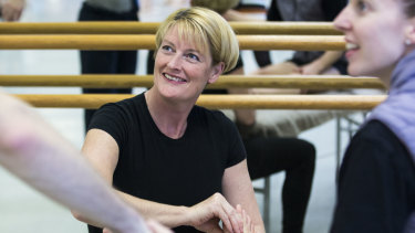 Dr Sue Mayes (centre) is the Australian Ballet's director of artistic health.