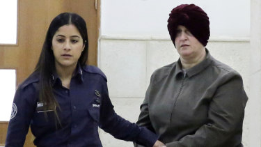 Accused child sex abuser Malka Leifer (right) is being held in Israel.