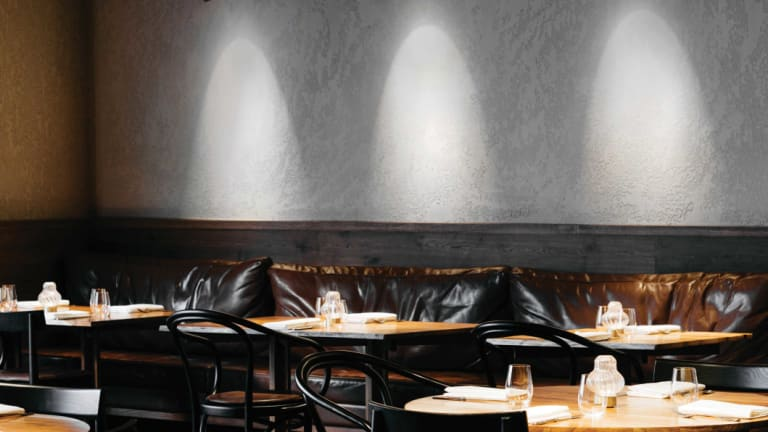 The Matilda restaurant in Domain Road South Yarra was designed by Projects of Imagination.