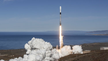 SpaceX's Falcon 9 launched on Tuesday.