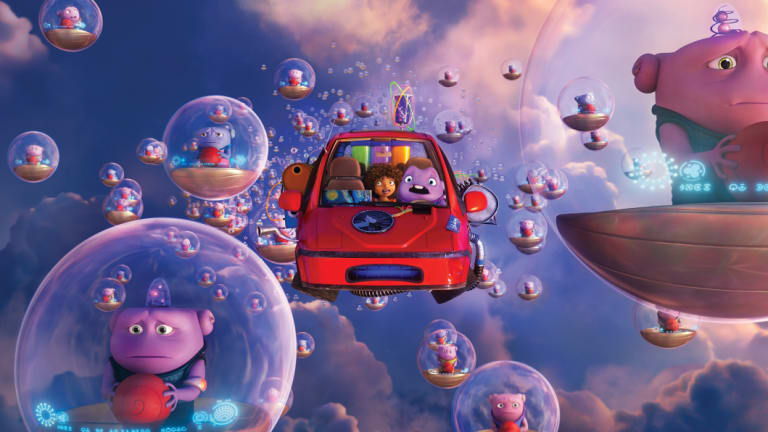 The Dreamworks film home presented a major challange