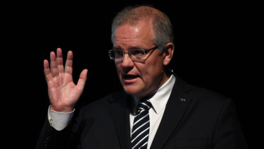 Prime Minister Scott Morrison is preparing a policy on migrant arrivals.