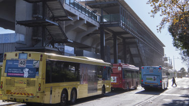 Many of the additional bus services will link to stations along the new metro train line such as Rouse Hill.