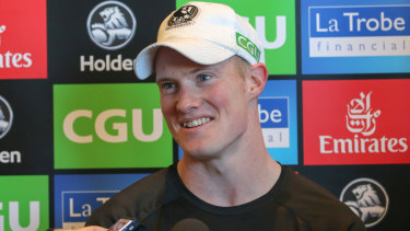 John Noble will make his debut for Collingwood in the grand final rematch against the Eagles in Perth.