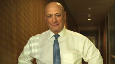 Andy Vesey, AGL's chief executive, is standing firm against calls to sell off an ailing power station.