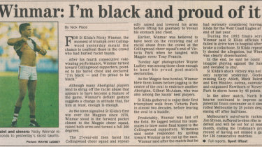 The Sunday Age, April, 18, 1993