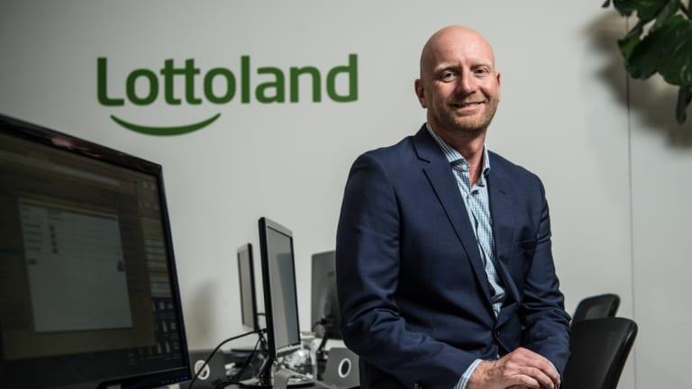 Lottoland CEO Luke Brill.