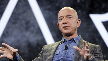 Two years ago, Bezos was the only person with a net worth of more than $US100m. Now there are five.