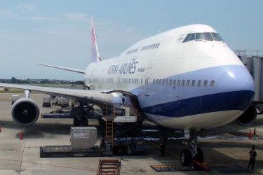 China Airlines 747, Taiwan