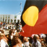 From the Archives, 1995: Aboriginal flag a symbol of reconciliation